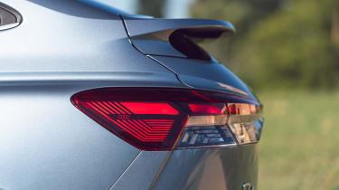 Audi Q4 Sportback e-tron rear end detail