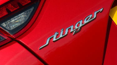 2021 Kia Stinger badge