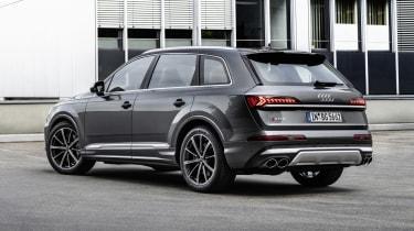 Audi SQ7 rear view