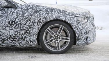 Mercedes-AMG C43 prototype alloy wheel