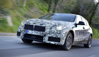2019 BMW 1 Series pre-production driving