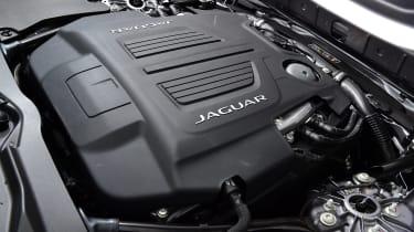 Jaguar F-Type coupe engine