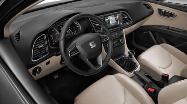 seat leon st estate 2014 front interior