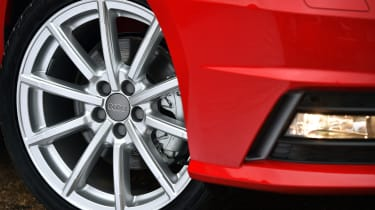 Larger alloy wheels looks good on the Sportback, but can hurt ride quality