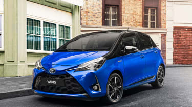 The updated Yaris was first shown to the public at the 2017 Geneva Motor Show
