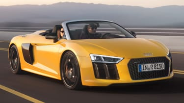 With no roof and a glorious non-turbo 5.2-litre V10 in the back, the new Audi R8 Spyder should sound epic
