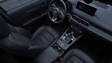 2022 Mazda CX-5 Sport Black interior
