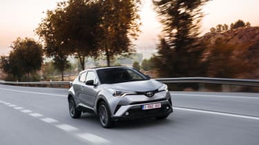 Despite the striking styling, there are hints of RAV4 in the C-HR's styling