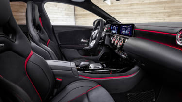 2019 Mercedes-AMG CLA 45 S Shooting Brake - interior side on view