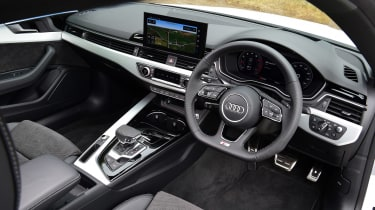 Audi A5 Coupe steering wheel