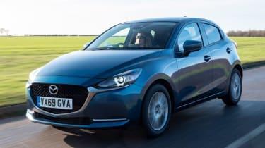 Mazda2 driving