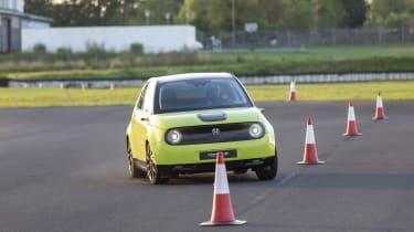 2019 Honda e prototype - front dynamic handling track