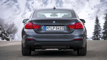 BMW 4 Series Gran Coupe rear static