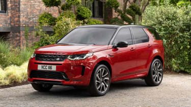 Land Rover Discovery Sport SUV nose static