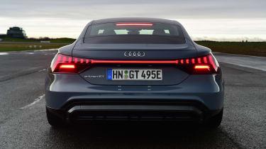 Audi e-tron GT saloon review rear static