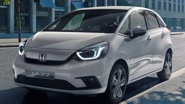 2020 Honda Jazz hybrid - front 3/4 view static