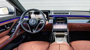 Mercedes S-Class saloon interior