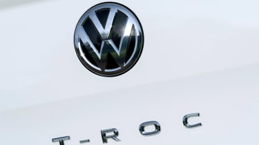 Volkswagen T-Roc badge