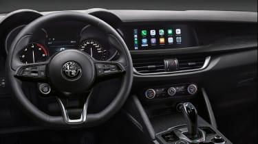 Alfa Romeo Stelvio SUV interior