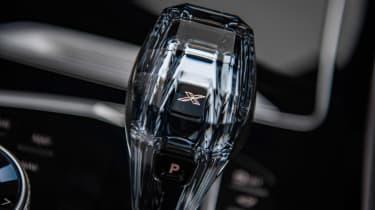 BMW X7 SUV gearlever