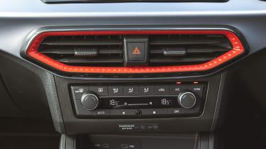 SEAT Ibiza hatchback centre console