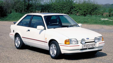 Ford Escort XR3i front