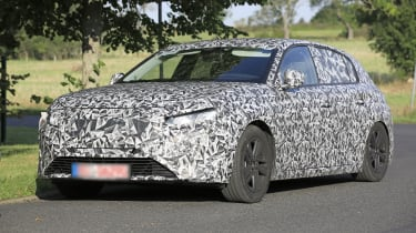 2021 Peugeot 308 prototype - front 3/4 driving