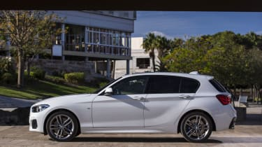 M Sport models get lowered suspension and larger wheels, improving handling but making the ride quite firm