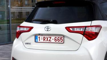 Toyota Yaris rear end