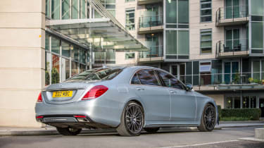 Thanks to its low emissions, the S500e is London Congestion Charge exempt