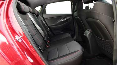 Hyundai i30 Fastback N Line rear seats