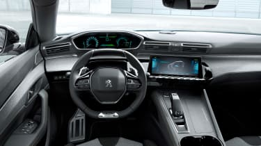 Peugeot 508 plug-in hybrid interior