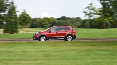 The S-Cross comes with a choice of petrol or diesel engines and two or four-wheel drive