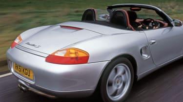 Porsche Boxster S rear