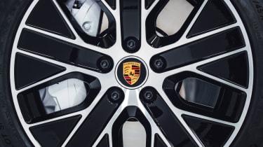 2020 Porsche Taycan - front alloy wheel close up