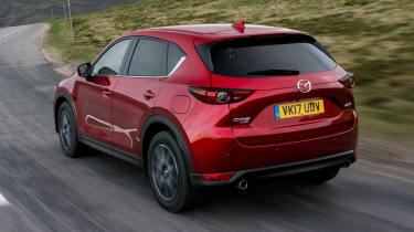 ...and the tail is more neatly styled, with slim LED rear lamps