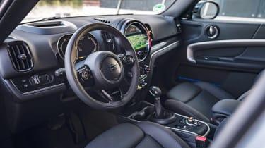MINI Countryman Plug-in Hybrid steering wheel