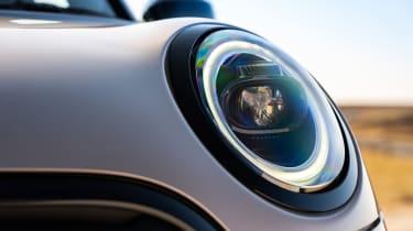 2021 MINI hatchback headlight