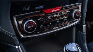 Subaru Forester SUV climate control
