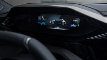 2021 Peugeot 308 - digital dial cluster