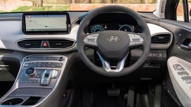 Hyundai Santa Fe SUV interior