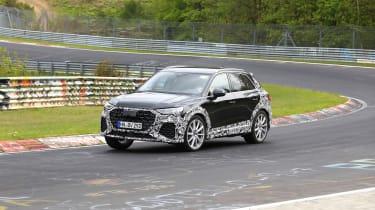 Audi RS Q3 Nurburgring testing - front three quarter