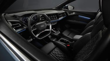 2021 Audi Q4 e-tron interior wide