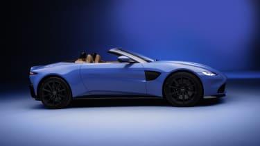 2020 Aston Martin Vantage Roadster - side view