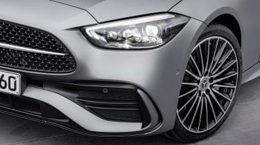 2021 Mercedes C-Class front end detail