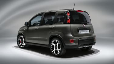 2020 Fiat Panda Sport - rear 3/4 view