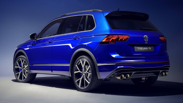 Volkswagen Tiguan R rear view