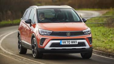 2021 Vauxhall Crossland SUV - cornering
