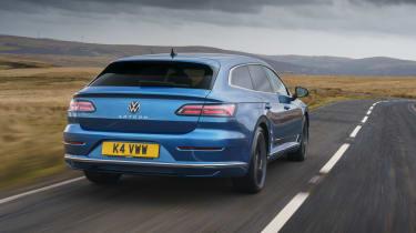Volkswagen Arteon Shooting Brake estate rear 3/4 tracking