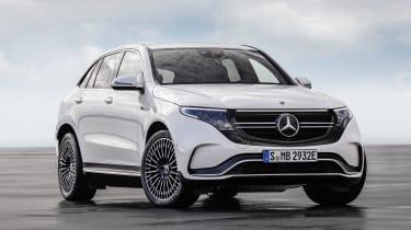 Mercedes EQC front